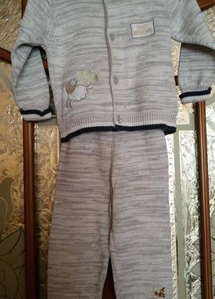 детский костюмчик вязаный Мелонс