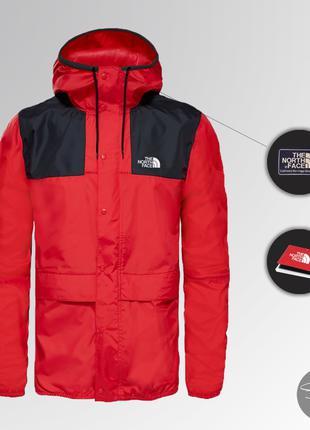 Ветровка The North Face 1985 Seasonal Mountain Jacket (Черно-крас
