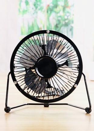 Портативный настольный usb вентилятор