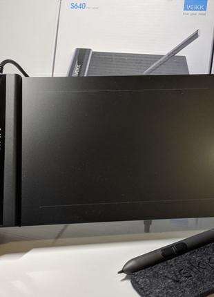 Графический планшет VEIKK S640 для ретуши
