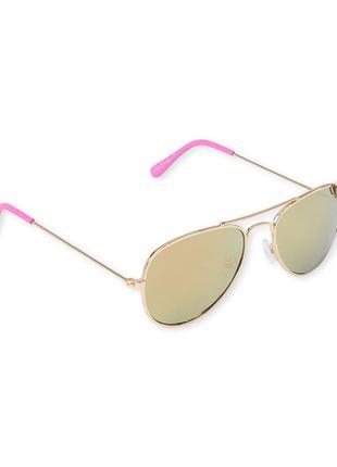 Зеркальные солнцезащитные очки для девочки