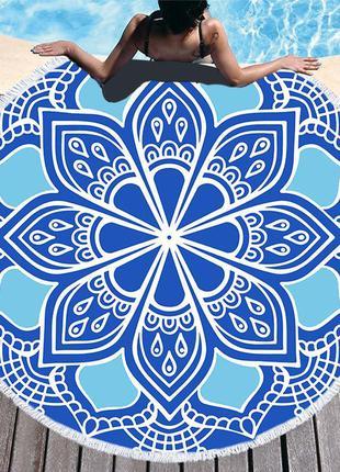 Пляжный коврик полотенце плед покрывало 1426