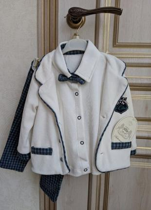 Праздничный, нарядный костюм пятерка для младенца, размер 68 B...