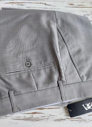 Брюки мужские летние светло-серые 46 размер новые