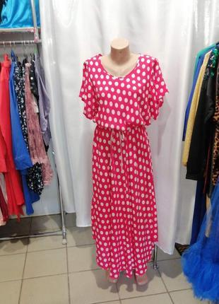 Платье длинное  штапель