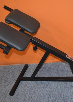 Тренажер гиперэкстензия для дома регулируемая, римский стул
