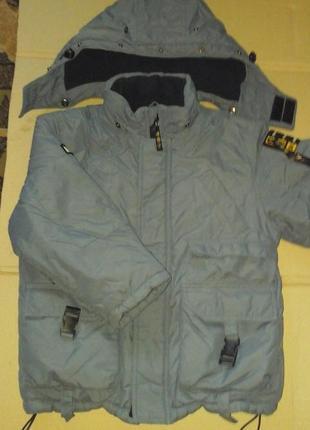 Куртка stin тёплая для мальчика 6-7 лет
