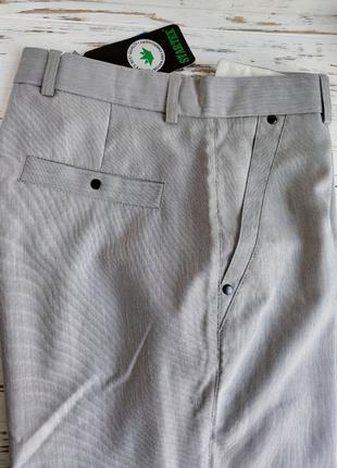 Брюки мужские летние светло-серые 48 размер