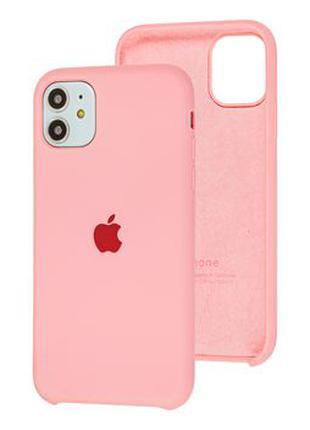 Original Soft Case iPhone 11 Pink /Чехол Айфон 11 Розовый
