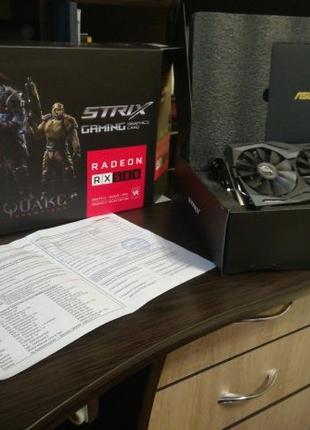 Відеокарта, Видеокарт ASUS ROG-Strix RX 580