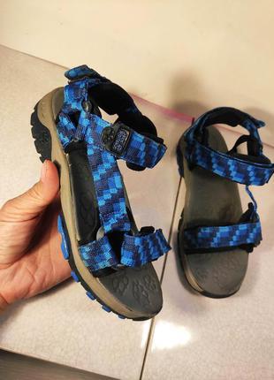 Jack wolfskin детские сандалии босоножки спорт 31 р 20,5 см ор...