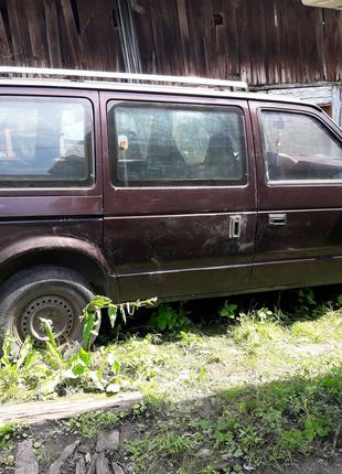 Dodge Grand Caravan SE 3.0 АКПП 1990 минивэн Chrysler Voyager