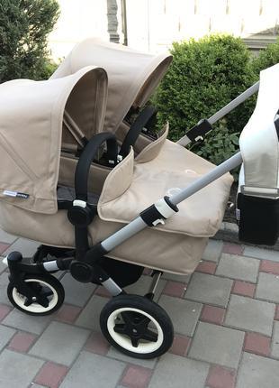 Коляска Bugaboo Donkey 2 Twin – коляска для двойни или погодки