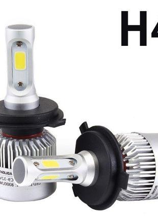 Светодиодные автомобильные лампы Лед Led h1/h3/h7/h4 все цоколя