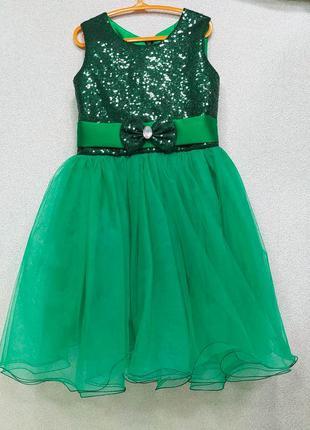 Нарядное платье елочки 5т