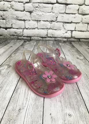 Крутые босоножки сандали мыльницы размер 25-26