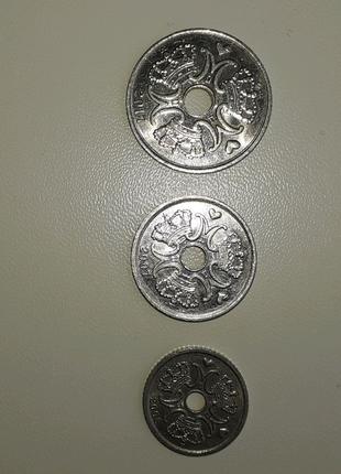 Монеты Дании.