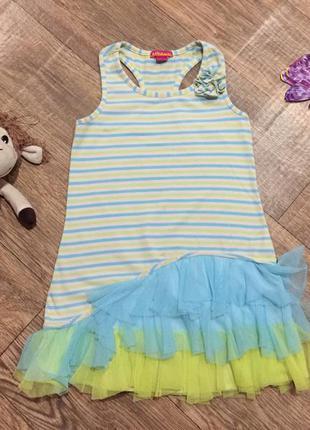 Красивое платье для дома,на 7 лет