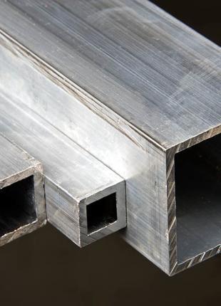 Алюминиевая квадратная труба 25х25х2 АД31 Т5 анодированная