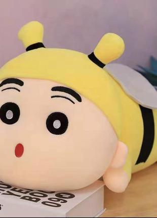 Игрушка плед подушка трансформер 3 в 1 пчела