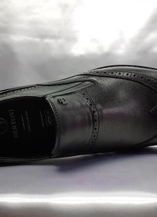 Распродажа!стильные комфортные туфли-броги bertoni