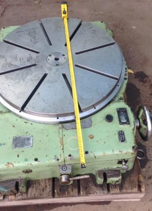 Стол поворотный круглый горизонтальный делительный диаметр 630 мм