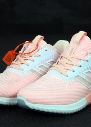 Летние женские кроссовки adidas climacool pink white.