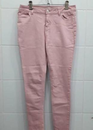 Базовые джинсы скинни на средней посадке