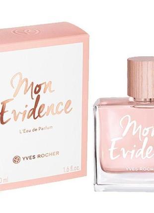 Парфюмированная вода Mon Evidence парфюмерия Ив Роше Yves Rocher