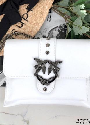 ❤ женские белая сумка через плечо  ❤