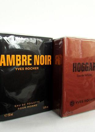 Туалетная вода Ambre Noir Черная амбра Hoggar Ив Роше Yves Rocher