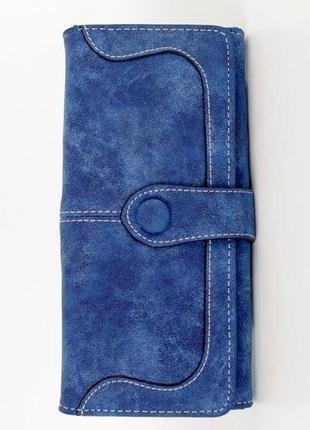 Женское портмоне baellerry magic style dark blue