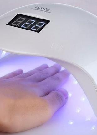 Профессиональная LED-лампа для сушки гелей и гель лаков SUN 5 48