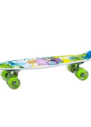 Яркий Пенни Борд (скейт)