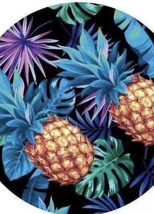 Пляжное полотенце покрывало ананас
