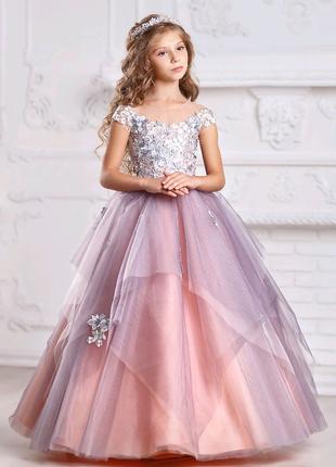 платье «Алеся», нарядное платье на выпускной, платье для девочки
