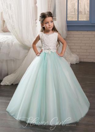 Нарядное платье в пол Рейчел, детские бальные платья дитяча сукня