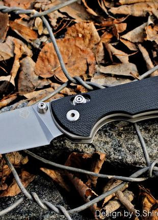 нож Табарган-100NS Широгоров Мастерская братьев Широгоровых 440С