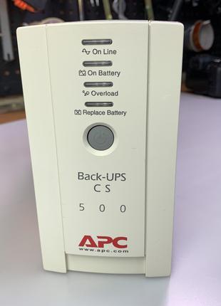 ИБП APC BackUPS CS 500 с аккумулятором