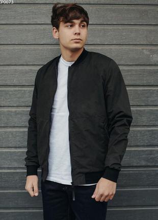 Бомбер, куртка, ветровка staff regi black