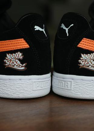 """Мужские кроссовки puma suede snipes edition """"battle of the year"""""""