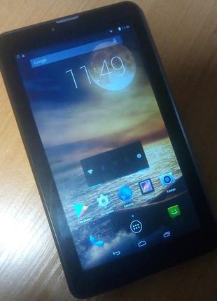 "Планшет-телефон-навигатор 7"" 2 sim, 3G, Android 4.4, 1/4Gb, 2/0.3"