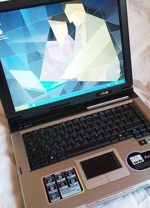 Ноутбук ASUS A6M - подойдет для несложных задач или для обучения