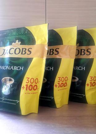 Растворимый кофе Jacobs 300+100