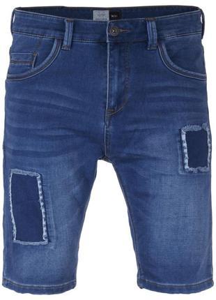 Шорты мужские голубые джинсовые house denim