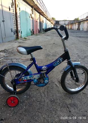 Детский велосипед на 14,левый берег