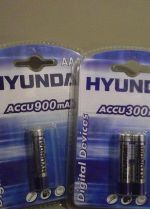 АКБ (пальчик,минипальчик) аккумуляторы Hyundai, GP, Camelion (...