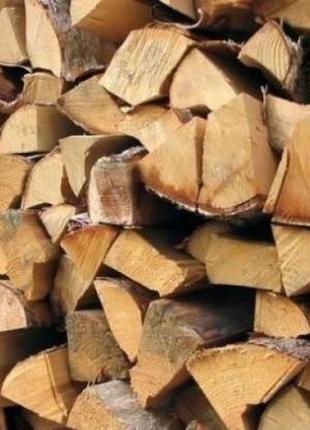 Колоті дрова. Тверді породи.