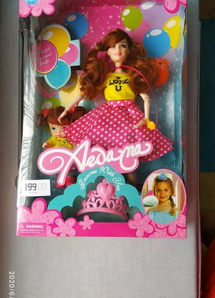 """Кукла типа Барби """"мама с дочкой"""" А277"""