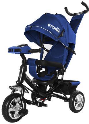 Детский трехколесный велосипед коляска TILLY STORM (Тилли Шторм)